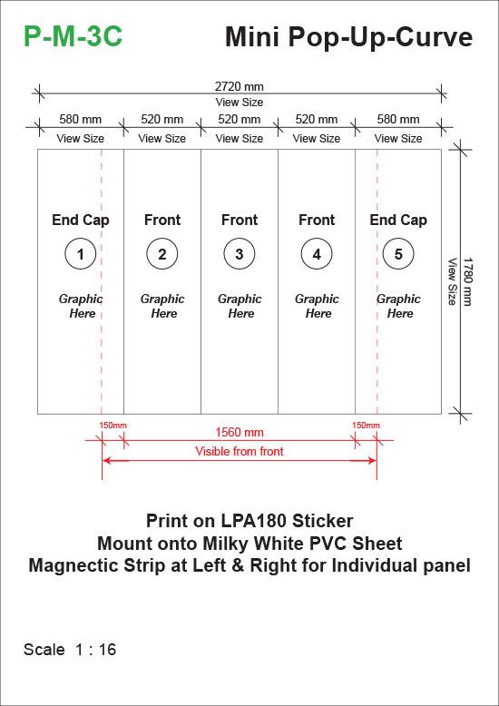 Mini-Pop-Up-System-Curve-(1780mm-x-525mm-x-1780mm)-Template-24kg-t