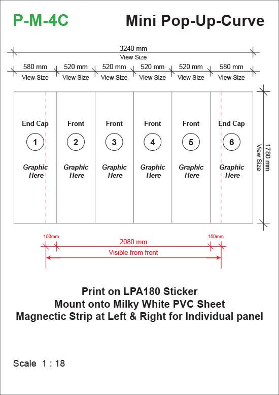 Mini-Pop-Up-System-Curve-(2361mm-x-525mm-x-1780mm)-Template-31kg-t
